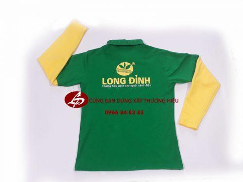 áo thun tay dài cho công nhân