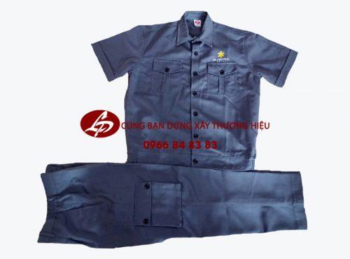 Bộ đồng phục kaki công nhân cơ khí là bộ đồng phục bảo hộ chuyên dụng