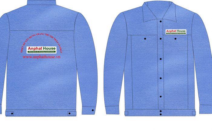 Mẫu thiết kế Áo đồng phục công nhân xây dựng uy tín chất lượng