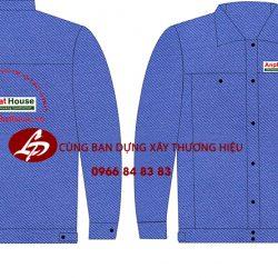 mẫu thiết kế áo công nhân xây dựng