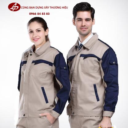 Đồng phục kaki công nhân cơ khí là đồ bảo hộ không thể thiếu